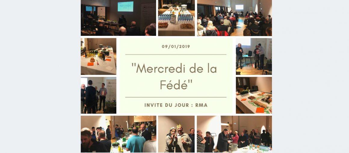 """Le Premier """"Mercredi de la Fédé"""" de l'Année 2019"""