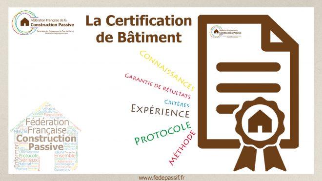 La certification de bâtiment