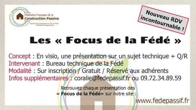 """Le """"Focus de la Fédé"""" - LANCEMENT OFFICIEL"""