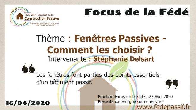 """Le """"Focus de la Fédé"""" #2"""