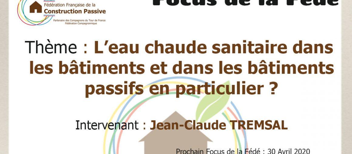 """Le """"Focus de la Fédé"""" #3"""