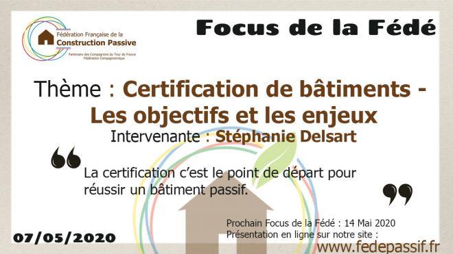 """Le """"Focus de la Fédé"""" #4"""