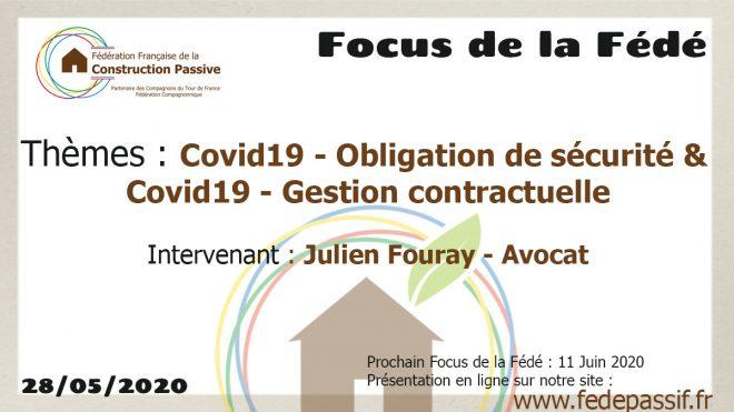 """Le """"Focus de la Fédé"""" #6"""